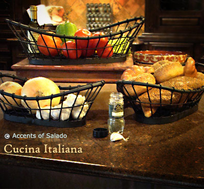 Tuscan Kitchen Baskets