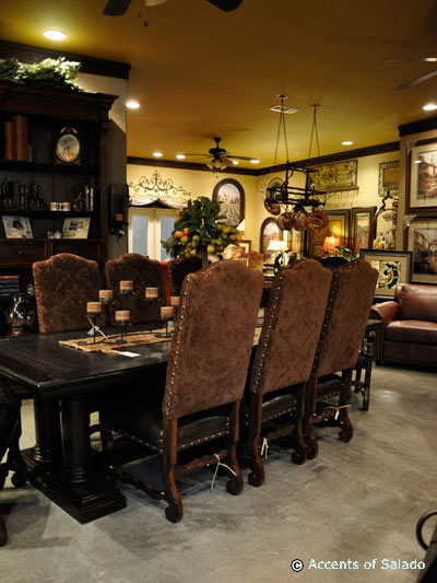 Tuscan Dining Chairs at Accents of Salado