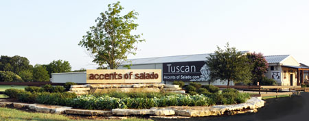 Accents of Salado Showroom/Warehouse in Salado, Texas