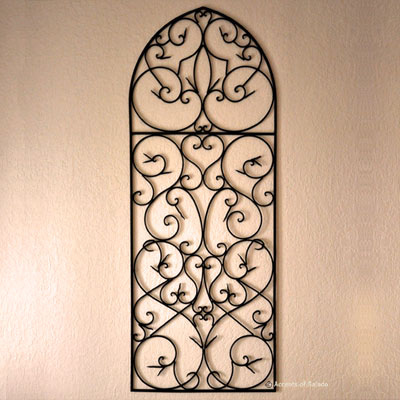 Metal Wall  on Arched Metal Wall Art By Susa