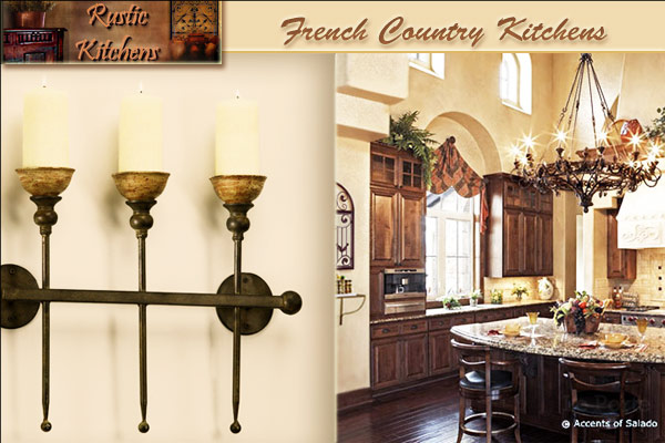French Country Kitchens French Kitchen Decorating Pictures Images Colors  Ideas Dinnerware Canisters