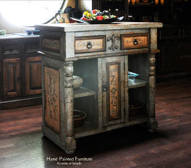 Tuscan Furniture for the Tuscan Kitchen