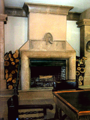 Cantera Fireplace