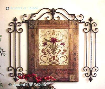 Fleur  Wedding Decor on Fleur De Lis Design Wall Decor