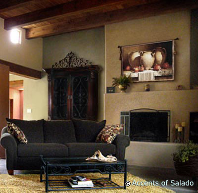 Spanish decor spanish hacienda interior design spanish Spanish home decorating styles