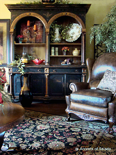 High  Leather Furniture on Find Leather Furnitureand Hand Painted Furniture With Wrought Iron And